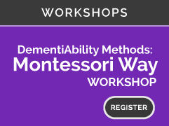 WORKSHOPS: Dementiability Methods