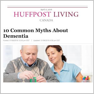 Dementiability - Huffpost Living - Jan 2016